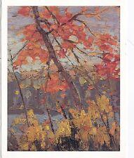 Tom Thomson Twisted Maple Postcard used VGC