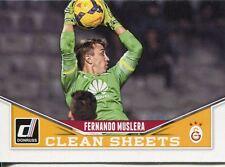 Donruss Soccer 2015 Clean Sheets Chase Card #3 Fernando Muslera
