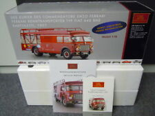 CMC 1:18 Ferrari Transporter Fiat 642 RN2 Red Die-cast model