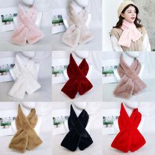 Women Winter Warm Scarf Fashion Imitation Fur Winter Shawl Neck Collar Scarves