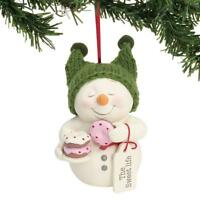 Dept 56 Snowpinions New 2018 THE SWEET LIFE Snowpinion ORNAMENT 6001855 doughnut