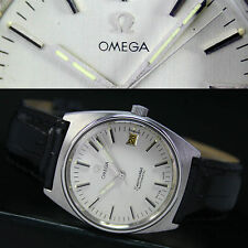 OMEGA Faux Leather Wristwatches