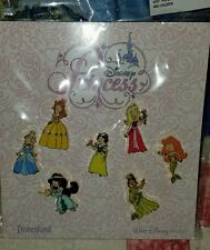 Disney Pins Princess 7 Pin Booster Set BRAND NEW Sealed AUTHENTIC