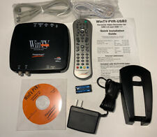 Hauppauge WinTV-PVR-USB2 MCE Bundle TV Tuner/Personal Video Recorder