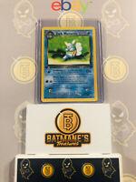 Dark Wartortle 46/82 1st Edition NM/M MINT Team Rocket Non-Holo Pokemon Card