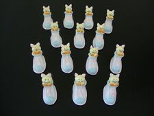 Lot 12 Kitties Souvenir Collectibles Handmade Miniatures Animals Figurines 2Free