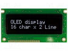 Display: OLED; alphanumeric; 16x2; Window dimensions: 66x16mm [1 pcs]