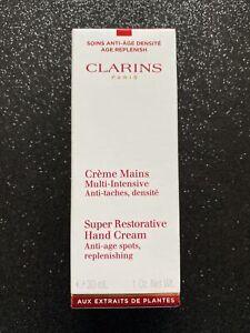 Clarins Super Restorative Hand Cream 30 Ml