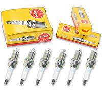 6 pcs NGK Standard Spark Plugs for 2004-2006 Lexus RX330 3.3L V6 - Engine xd