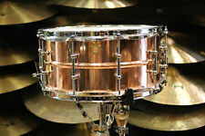 Ludwig 6.5x14 Smooth Copper Phonic Snare Drum with Tube Lugs
