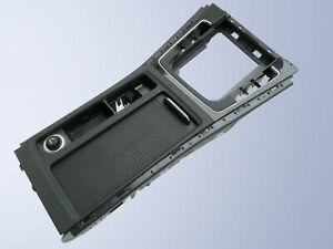 Blende Mittelkonsole Getränkehalter schwarz hochglanz VW Golf 7 VII 5G