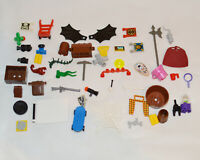 25 LEGO Accessories Pack Mixed Pick Bundle For Mini Figures Including Rares