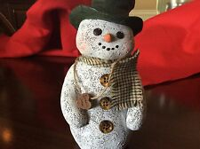 1995 Sarah's Attic Snowman Chilly # 622/1000 Dated and Stamped Limited Numbered