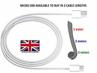 Long Micro USB FAST Data Charger Charging Cable Lead For HUAWEI P9 LITE