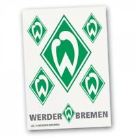 SV Werder Bremen - Aufkleber Raute 6tlg., grün