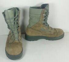 USGI MILITARY BELLEVILLE FAFTW 08.5 WF FEMALE USAF COMBAT BOOT GREEN