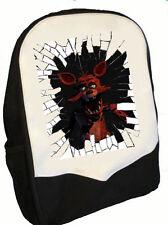 Cinq Nights at Freddy's Back Pack verre cassé Foxy parfait pour l'école BMS
