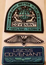 Alien Covenant uniform Embroidered Patch set