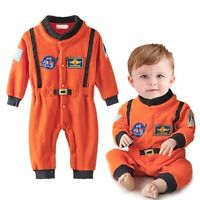 Baby Boy Girl Carnival Astronaut Spaceman Fancy Dress Party Costume Warm Outfit