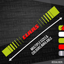 Claas Tractor / Harvester Sticker / Decal - Multiple Sizes & Colours Available