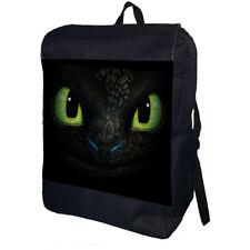 Toothless Dragon Personalised School College Shoulder Bag Backpack