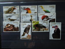 G518 STAMPS ZAIRE 1982  BIRDS  SET  MH