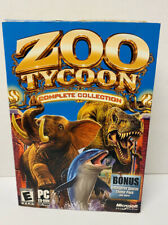 Zoo Tycoon: Complete Collection (PC, 2003) W/ Manual Box Version Free Shipping