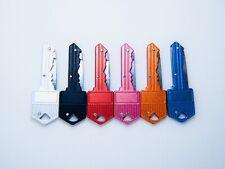"4.75"" Folding Pocket Key Knife Steel Dagger Blade Keychain Tactical Self Defense"
