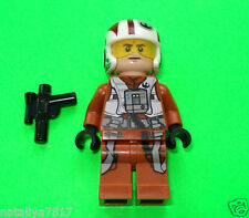 LEGO STAR WARS FIGUREN ### RESISTANCE PILOT AUS SET 75102 NEU ### =TOP!!!