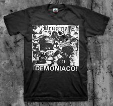 "Brujeria ""Demoniaco' T Shirt Asesino Napalm Carcass"