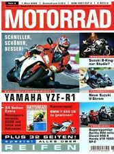 M0206 + HONDA VTR 1000 SP-2 + DUCATI 998 S + APRILIA RSV mille + MOTORRAD 6/2002