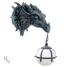 Nemesis Now Gothic Dragon Wall Light 40 cm DRAGON Head-Fantasy