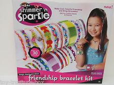 Cra-Z-Art Shimmer 'n Sparkle - Friendship Bracelet Kit - Ages 6 and up