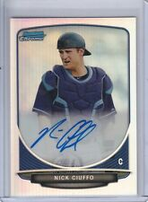 NICK CIUFFO 2013 BOWMAN CHROME DRAFT PICK AUTO REFRACTOR