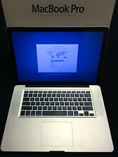 "Apple MacBook Pro 15.4"" HiRes Laptop - i7 2.2 8GB RAM 1TB MD322LL/A 2011 10.13"