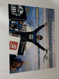 Kevin Harvick NEW HAMPSHIRE VICTORY CELEBRATION MONSTER 8x10 autographed photo