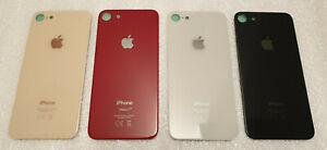 Vitre arrière - couvercle cache batterie avec adhésif iPhone 8