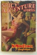 Spicy Adventure Sep 1940 GGA Assault Cover by H.J. Ward
