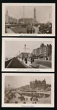 Lancashire Lancs BLACKPOOL 3 Edwardian RP PPCs local pub Corona Co