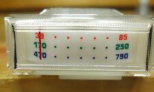 1x vintage Einbauinstrument , Neu. Tuning  ect. Ersezt viele Drehspulinstrumente