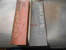 """DC126B Pair of Gulf 6/"""" Vinyl Decals"""