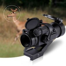 Tactical Red Green Laser Scope Riflescope 32mm M2 Sight Telescope Hunting Optics