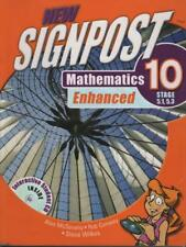 MATHEMATICS 10 ENHANCED STAGES 5.1, 5.3 NEW SIGNPOST EXCLNT +CD FAST FREE POST