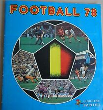 PANINI FOOTBALL 78 sticker ALBUM 1978 COMPLETE TOP BELGIE voetbal