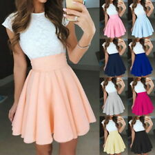 Women Summer Lace Cocktail Dresses Mini Skater Ball Evening Dress Party Club New
