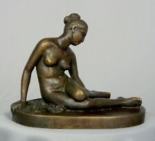 Nude Sculpture NYMPH and a SCORPION by L. Bartolini Bronze Reproduction Statue