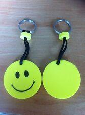 portachiavi porta chiavi gallegiante a forma di smile giallo IDEA REGALO FIERA