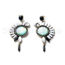 LAST ONE NWT 'Wild Inca' Statement Fashion Earrings, Smith And Kona,Tribal