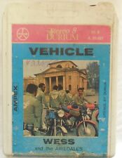 CARTRIDGE TRACK TAPE CASSETTA STEREO 8 VEHICLE WESS AIREDALES  1972