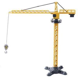 1:55 Construction Tower Crane Building Truck Vehicle Diecast Toy Kids Playset